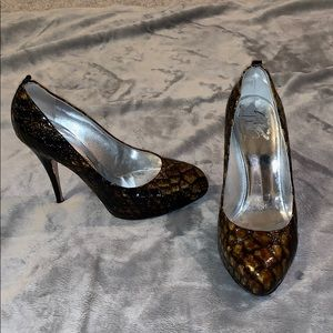 Turtle shell sexy heel